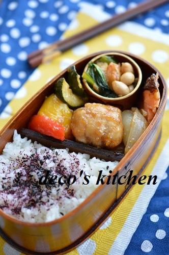 平天と小松菜の醤油麹炒め2