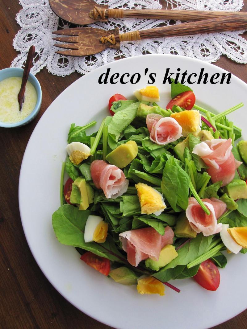 decoの小さな台所。-アップルジンジャードレッシング1
