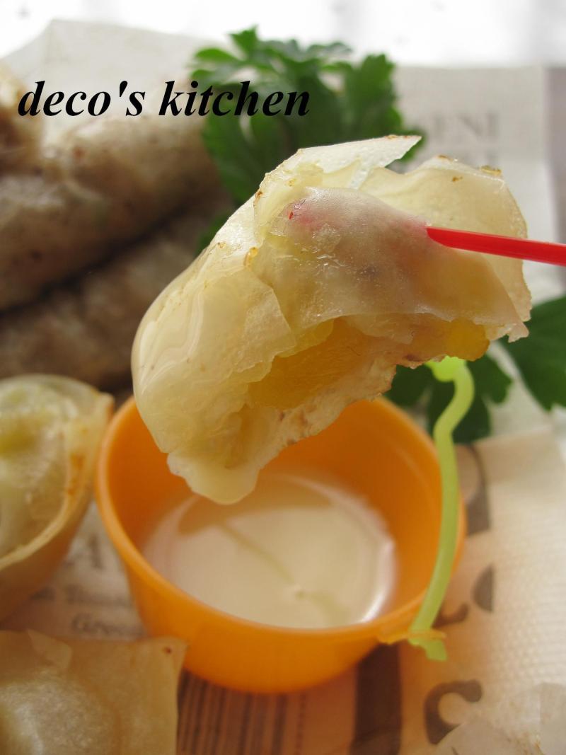 decoの小さな台所。-揚げバナナ4