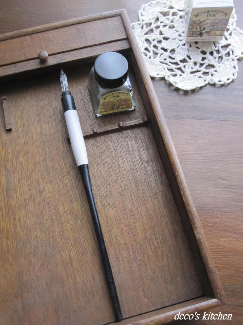decoの小さな台所。-ガラスペン2