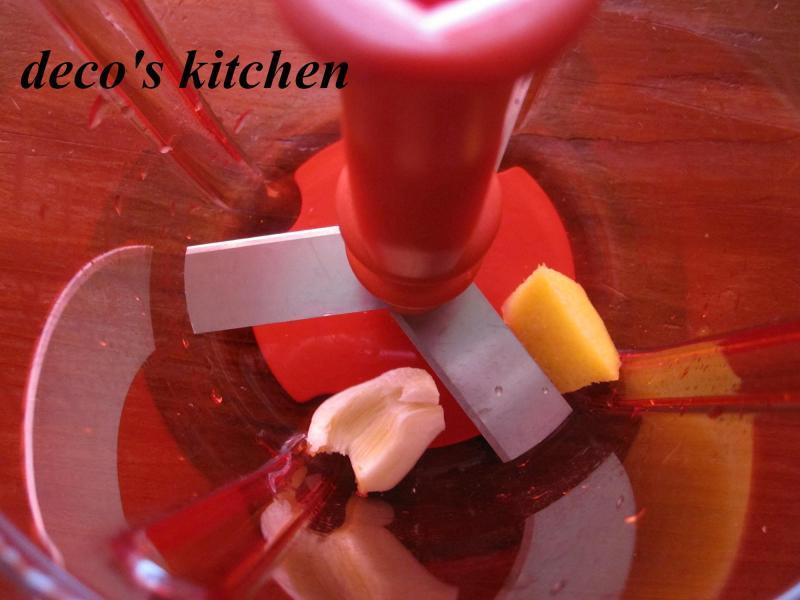 decoの小さな台所。-ポパイな鶏そぼろご飯7