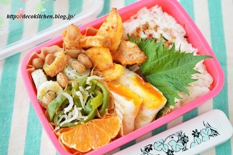 ケチャップ炒め弁当7