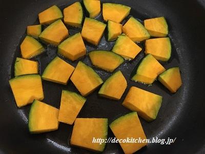 かぼちゃ炒め工程3