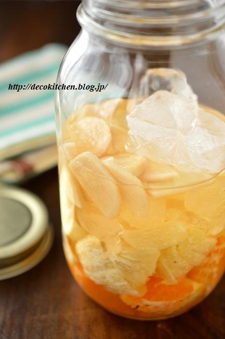 フルーツ酢仕込み3