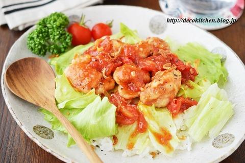 トマト炒め6