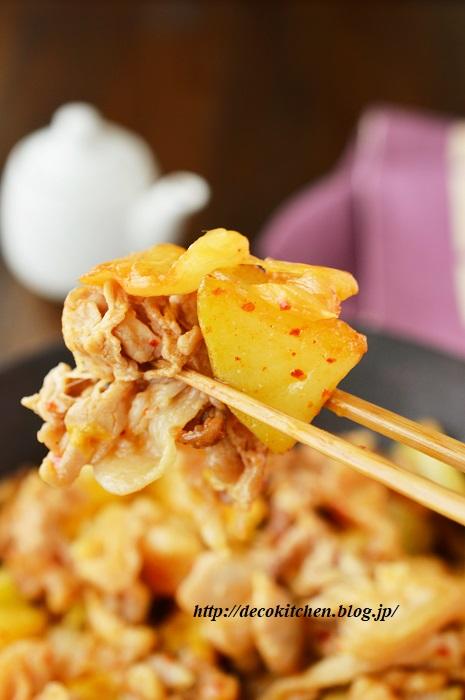 キムチ炒め11