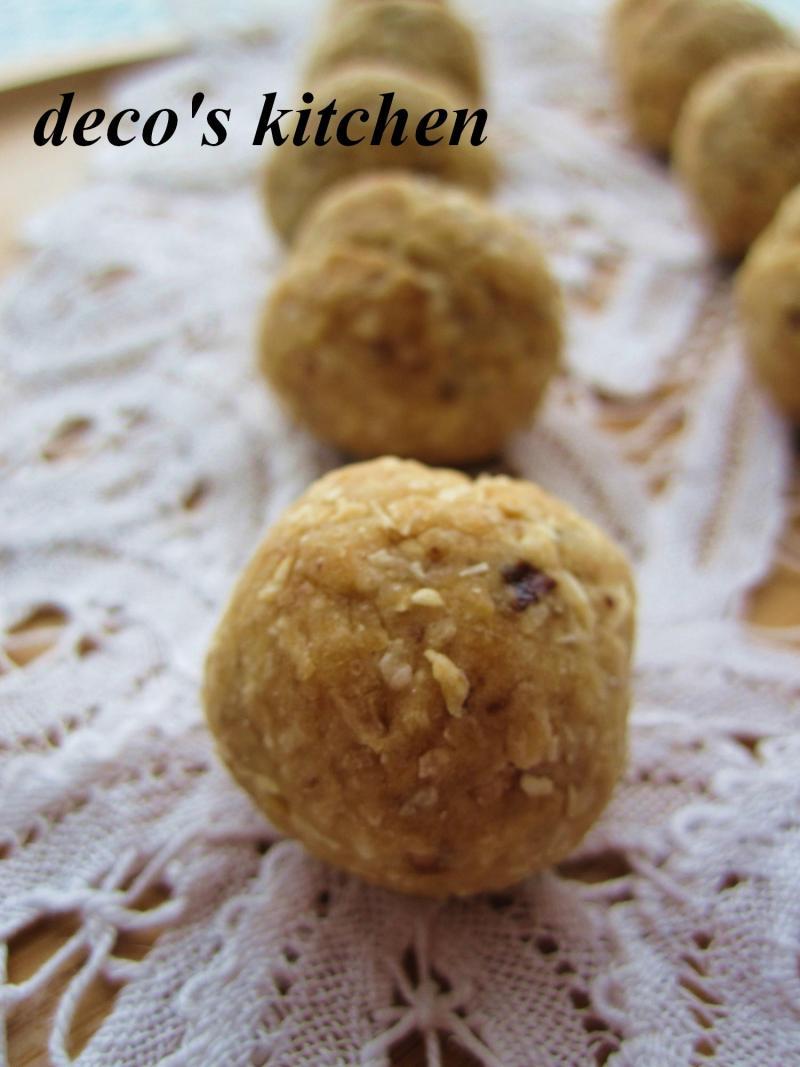 decoの小さな台所。-プルーン塩ココナッツクッキー5