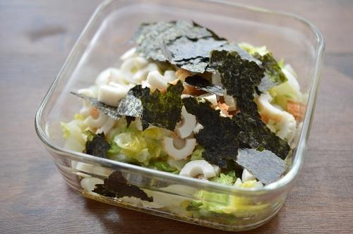 白菜ナムル工程4