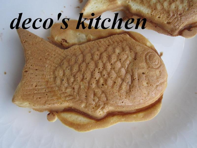 decoの小さな台所。-鯛焼き作り5