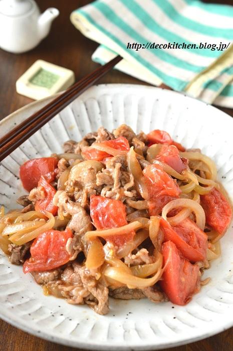 牛肉炒め2