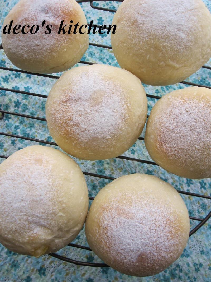 decoの小さな台所。-ココナッツパイン白パン4