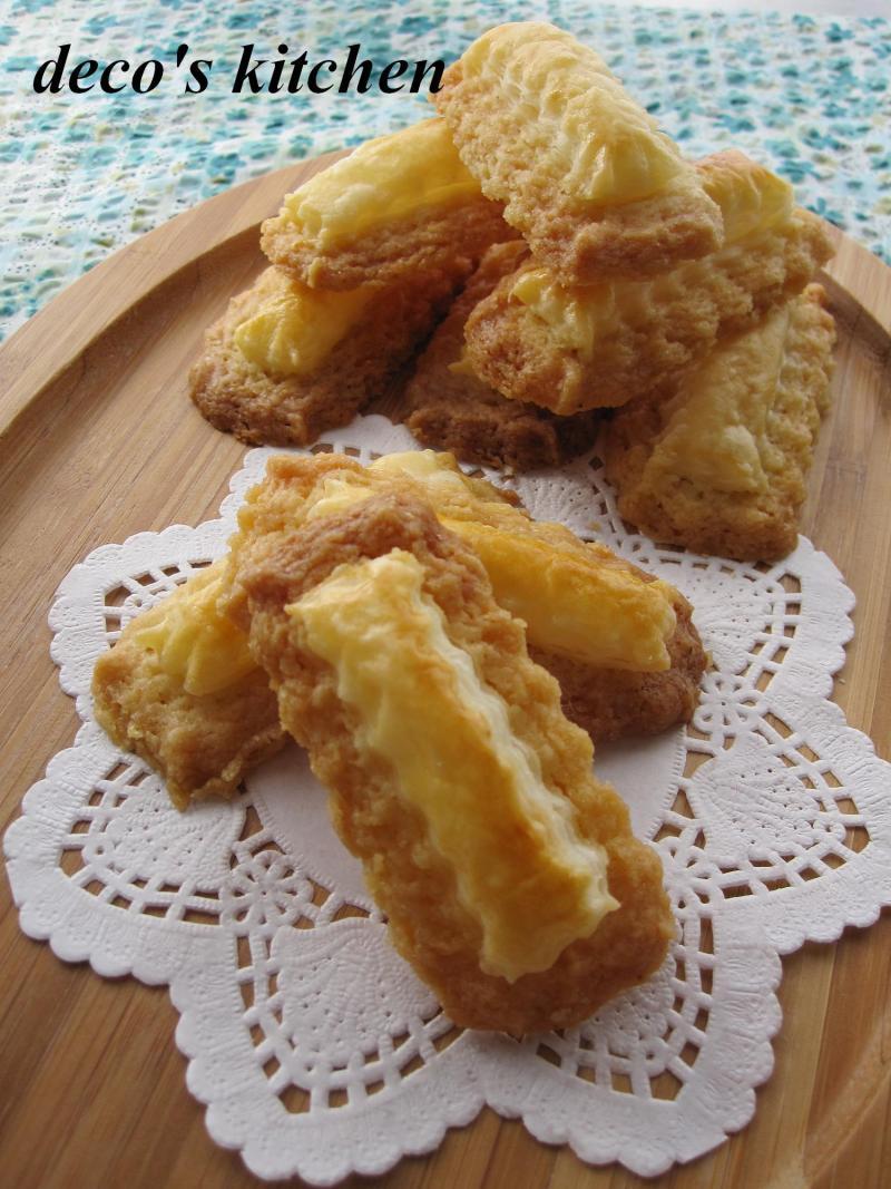 decoの小さな台所。-パイのせレモンクッキー9