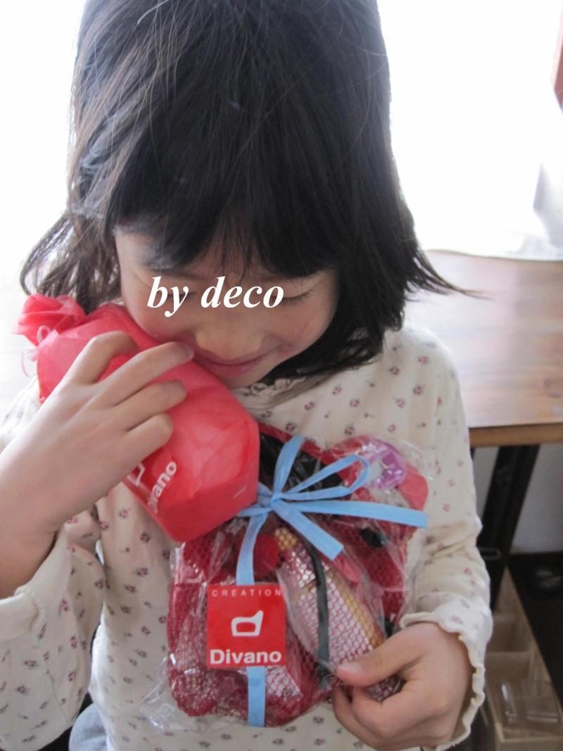 decoの小さな台所。-mayaちゃんからの贈り物4