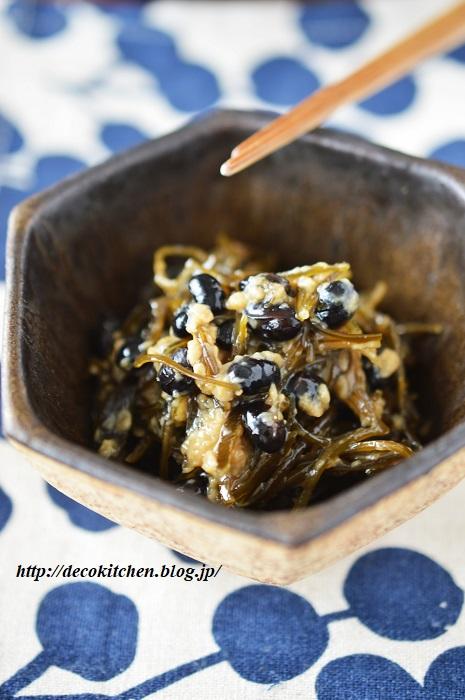 黒豆醤油煮6