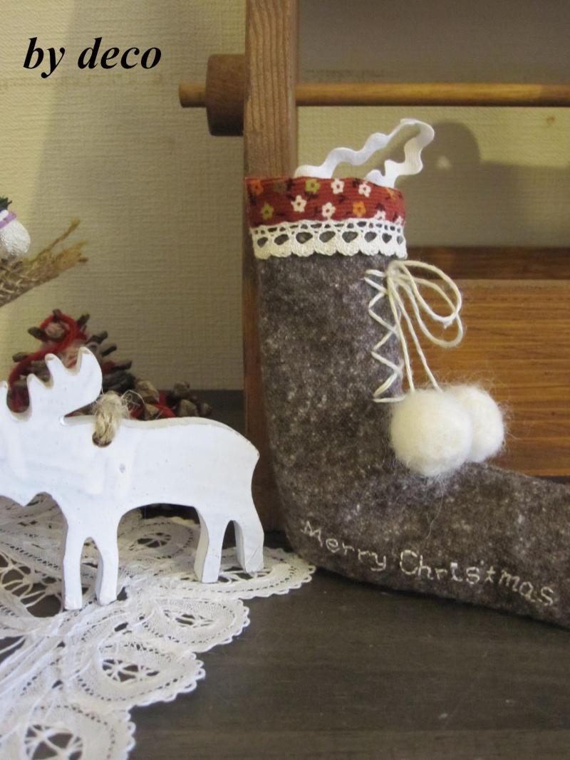 decoの小さな台所。-クリスマスの飾り1