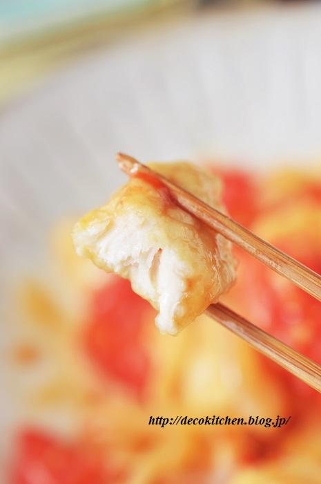 トマト生姜焼き9