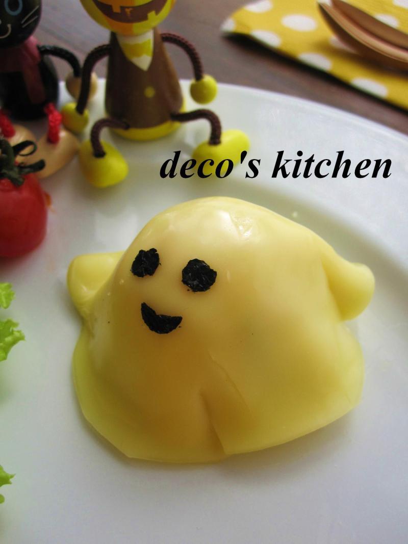 decoの小さな台所。-ハロウィン散らし寿司プレート5