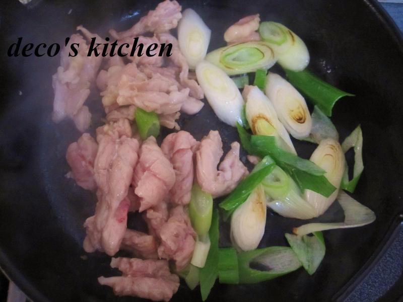 decoの小さな台所。-常春キャベツとせせりの、塩生姜鍋8