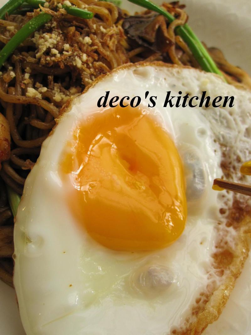 decoの小さな台所。-レッドカレー焼きそば7