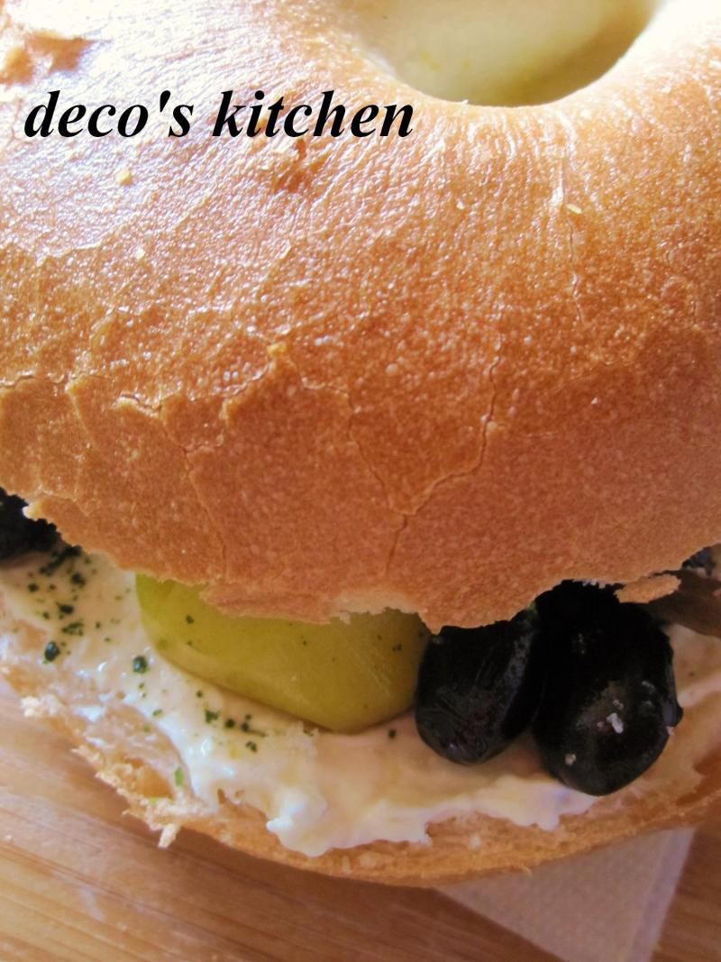 decoの小さな台所。-はちみつジンジャークリチと黒豆のサンド6