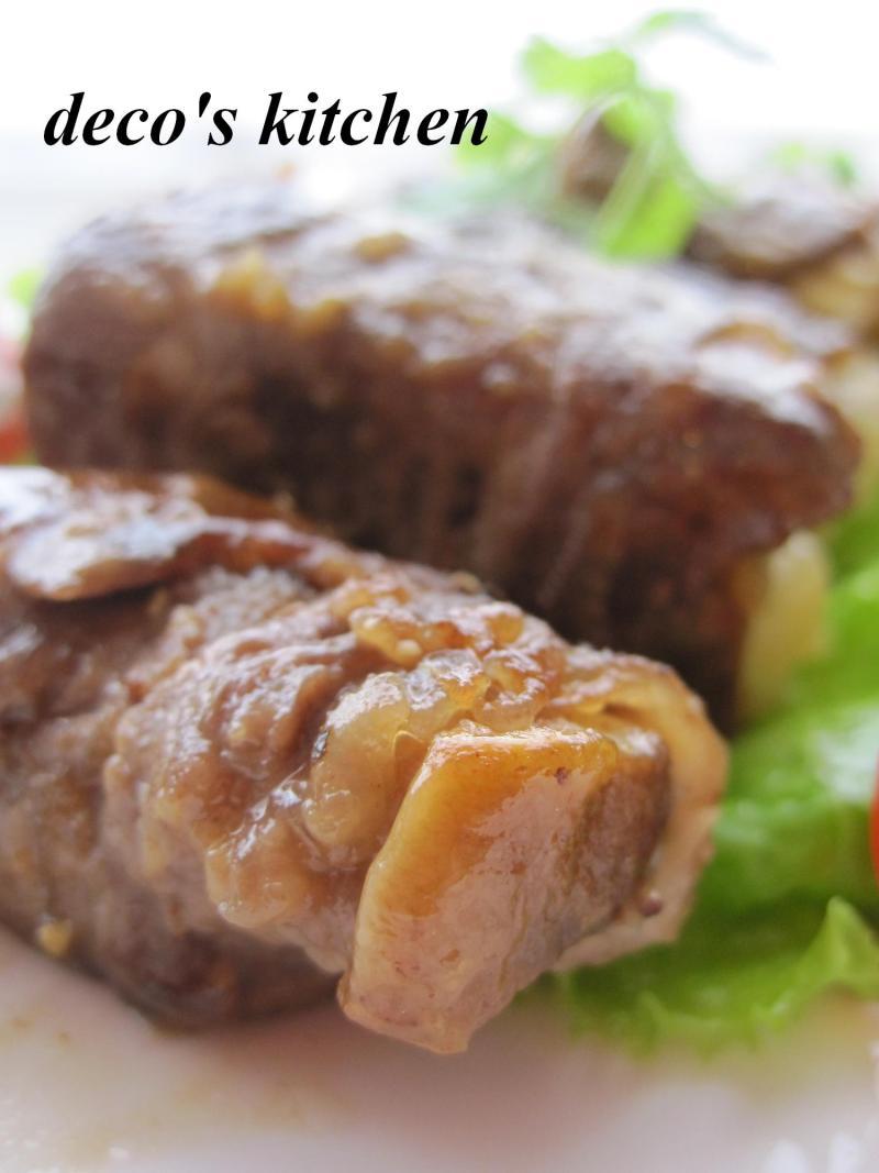 decoの小さな台所。-エリンギと長芋の肉巻き3