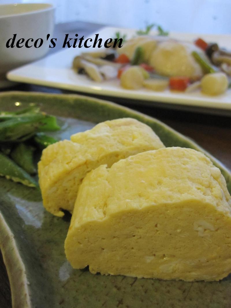 decoの小さな台所。-出汁巻き卵