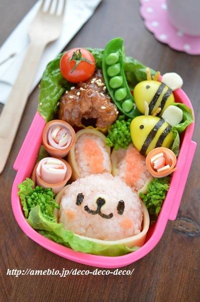 うさぎちゃん弁当2