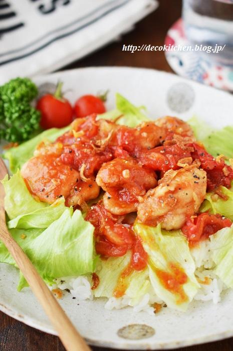 トマト炒め3