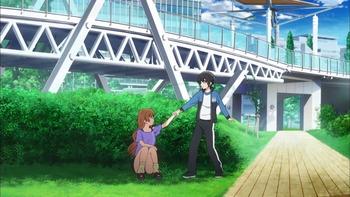 10話 B-016 東京ビッグサイト庭園