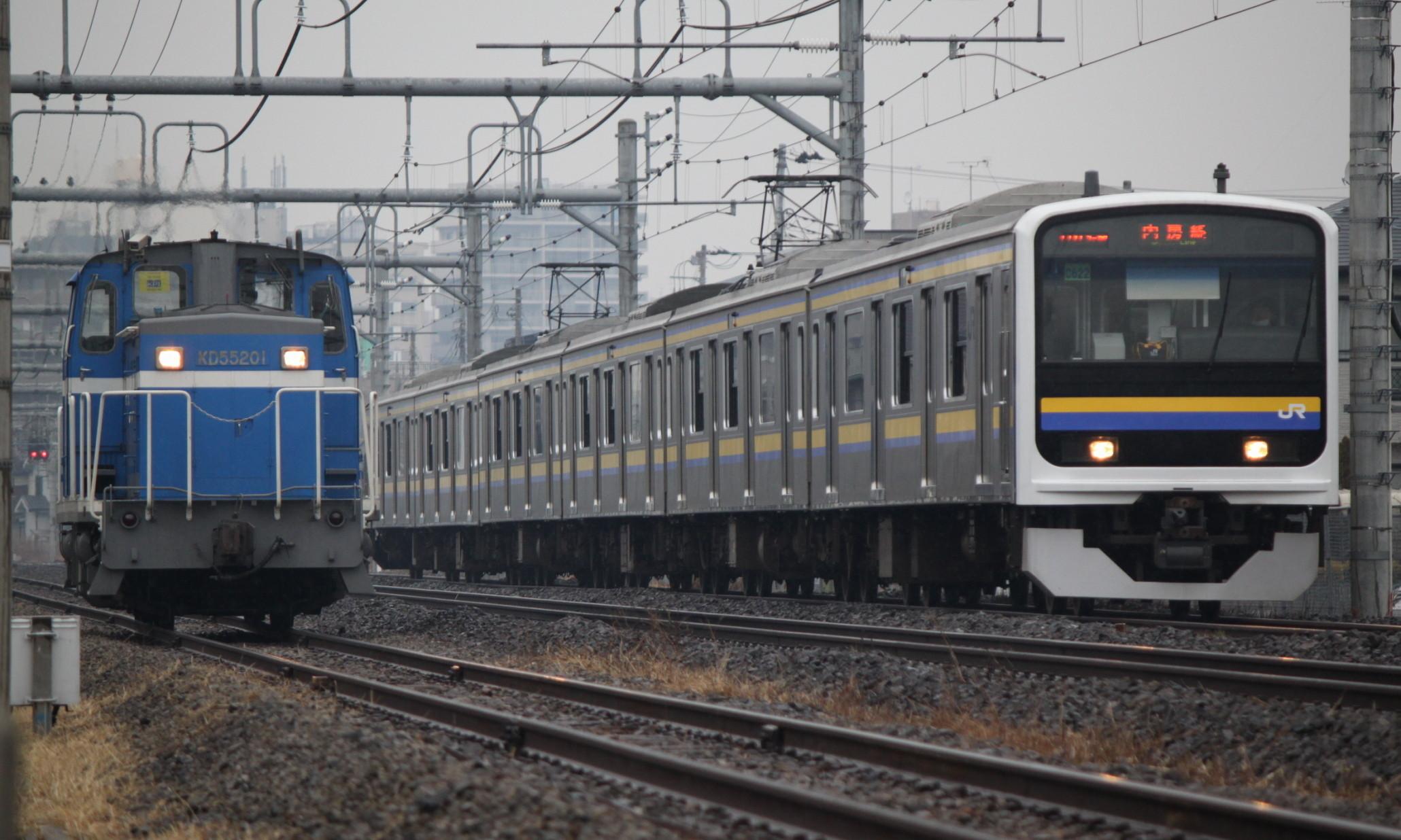 Keiyo_Rinkai_Railway_KD55_201_with_JR_East_Uchibo_Line