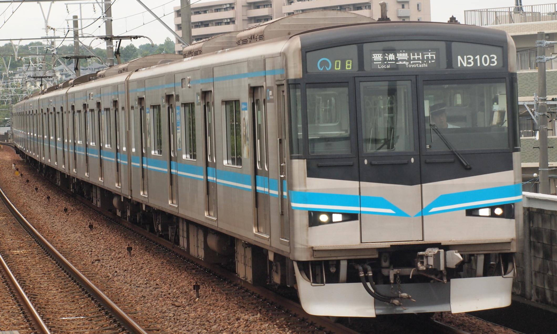 Nagoya_Metro_N3000_Series