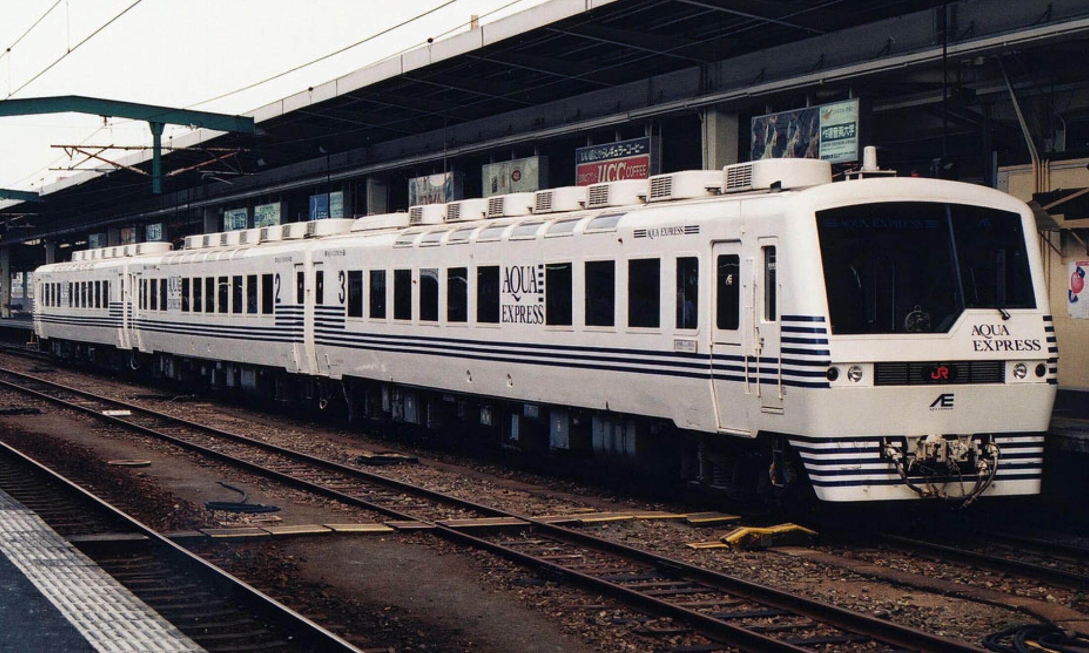JR-Kyushui_KIHA-58_Series_Aqua_Express