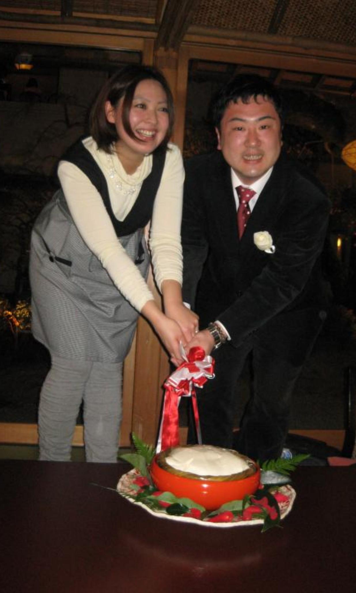 Mikio_Osawa_with_Yuko_Handa