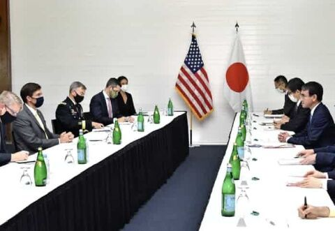 バ韓国抜きで行われた日米国防省会議