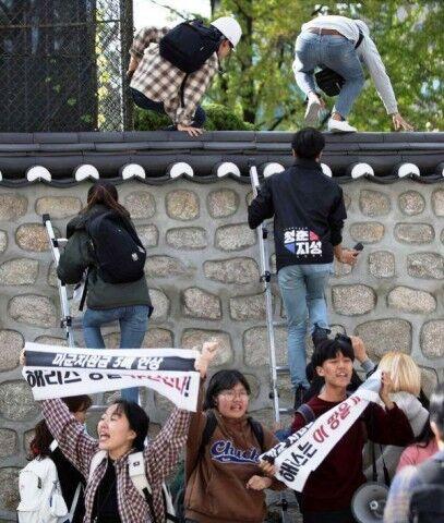 大使館を襲撃しても釈放されるバ韓国