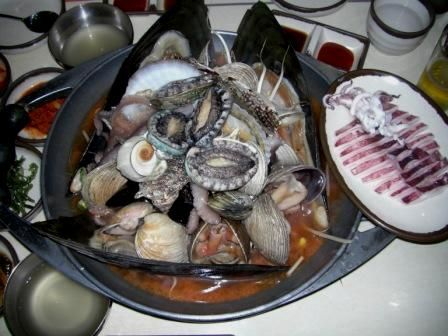 ただの生ごみにしか見えないバ韓国の海鮮料理