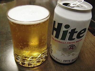 見ただけでその不味さが分かる韓国のハイトビール