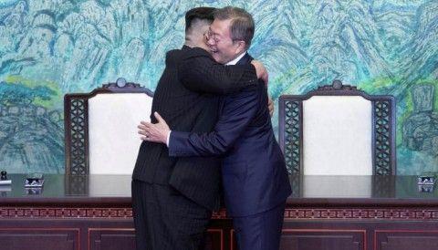 朝鮮半島統一後に37564するのが理想です