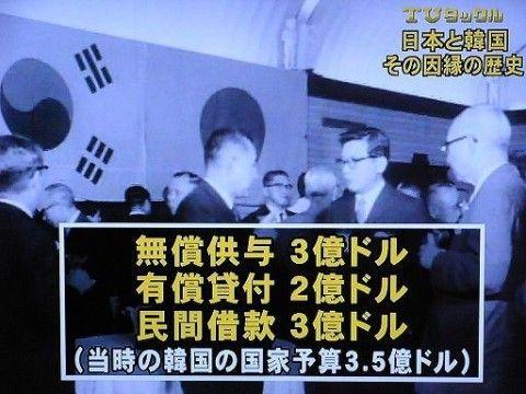 日本からの金は全てバ韓国政府がポケットに