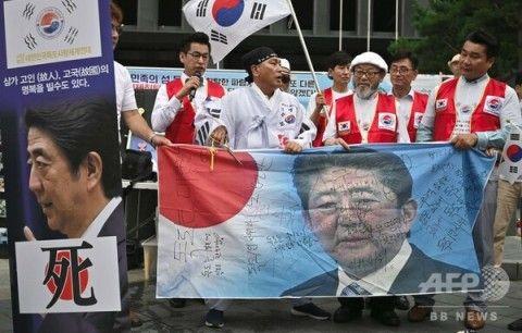 反日運動で現実逃避するしかないバ韓国塵ども