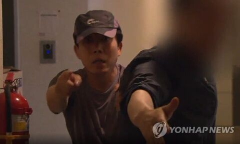 警察に逆切れしたバ韓国の脱北者団体・代表