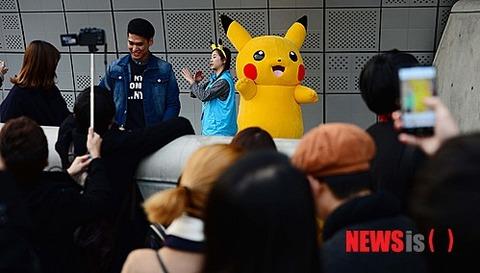 ソウルでポケモンイベント開催
