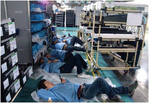 中国のサムスン工場