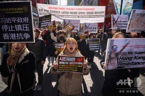 意味も分からず香港デモを支持するバ韓国塵ども