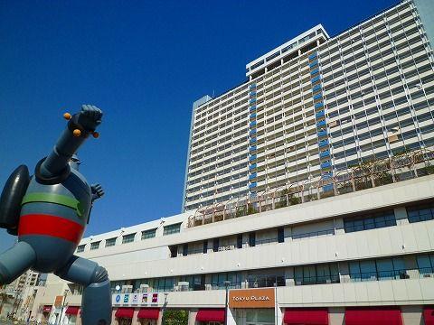 阪神淡路大震災復旧シンボルの鉄人28号の公園がある長田区