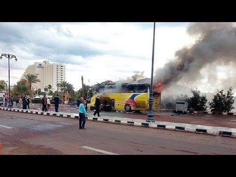 エジプトで観光バスが爆発