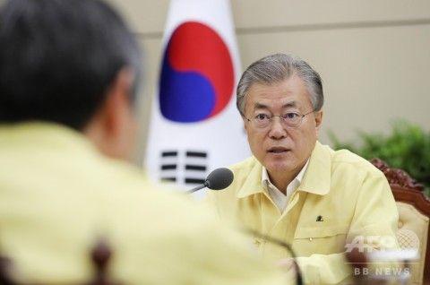 観光船沈没で、これ見よがしに指示を出すバ韓国・文大統領
