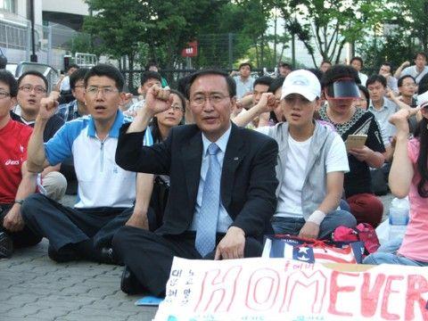 自殺したバ韓国の議員ノ・フェチャン