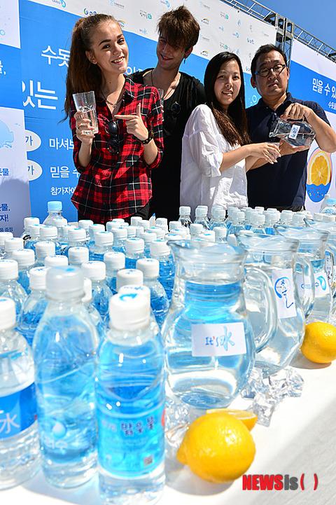 諸外国では販売不可能なバ韓国製大腸菌入り飲料水