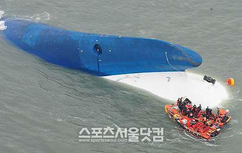 セウォル号救助の際、空気の代わりに毒ガスを注入していた事が判明